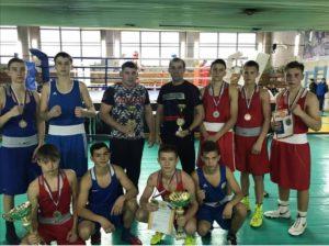 Пять медалей на первенстве ЦС РССС по боксу