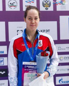 Бронза на Чемпионате России по плаванию