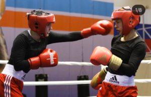 Золотые медали на Чемпионате СФО по боксу среди женщин
