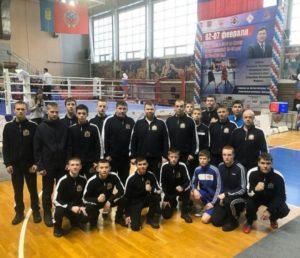 Серебро и бронза на первенство СФО по боксу среди юношей