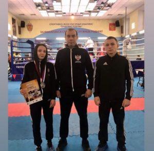 Серебряная медаль по боксу на Всероссийских соревнованиях