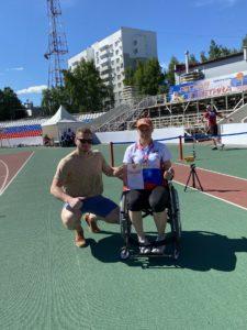 Медали на Чемпионате России по легкой атлетике (ПОДА)