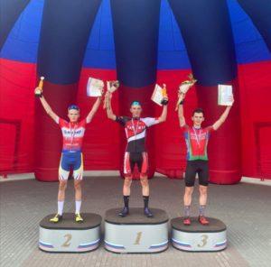 Серебро на первенстве России по велоспорт-шоссе