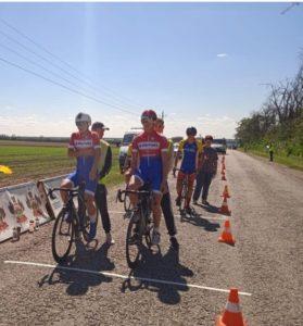 Бронза на первенстве России по велоспорту-шоссе